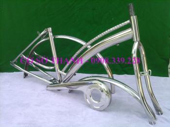 Khung xe đạp MBCĐC2xoắn